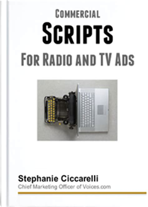 [pdf] Commercial Scripts For Radio And Television Ads - Voices Com.